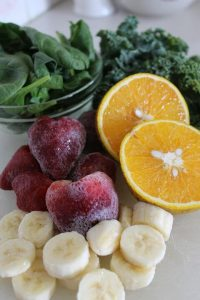 Vegetables and Frozen Fruits