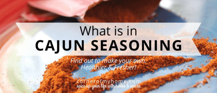 What is in Cajun Seasoning
