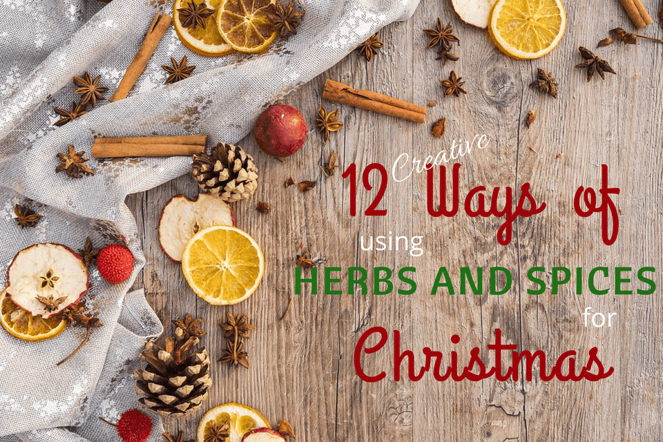 12 Creative Ways of Using Herbs and Spices for Christmas