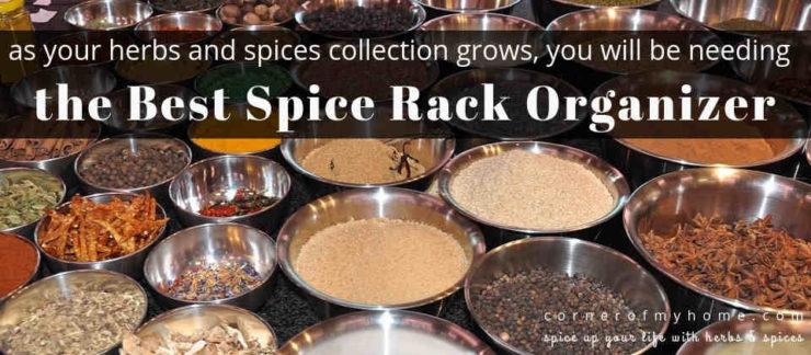 Best Spice Racks 2019 Best Spice Rack Organizer 2019   Corner of My Home