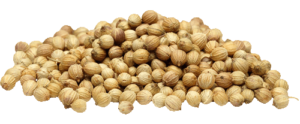 Coriander helps accelerate digestion, breaking down food faster to decrease bloating