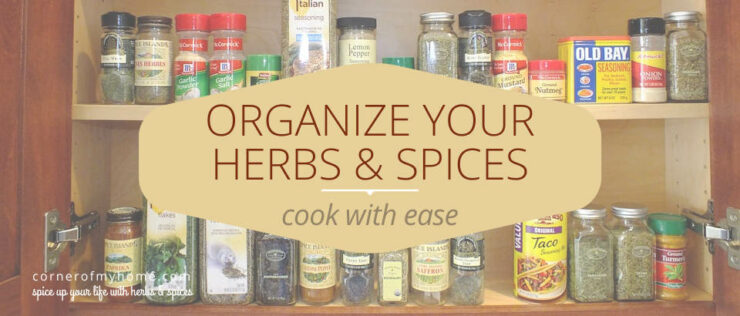 Organize your herbs and spice with a spicerack organizer and cook with ease