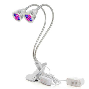 Plant grow light with dual switch