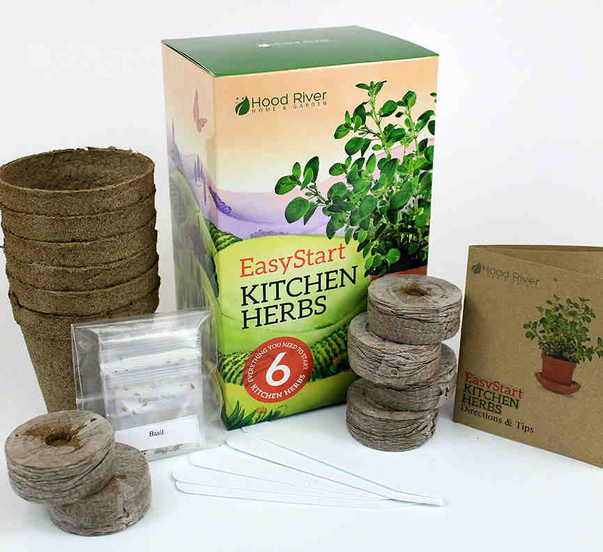 Kitchen Garden Kit: Indoor Herb Garden For Beginners