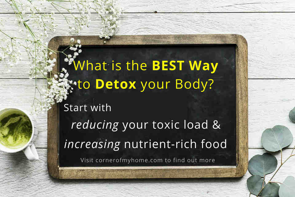 Start with reducing toxic load and increasing nutrient rich food