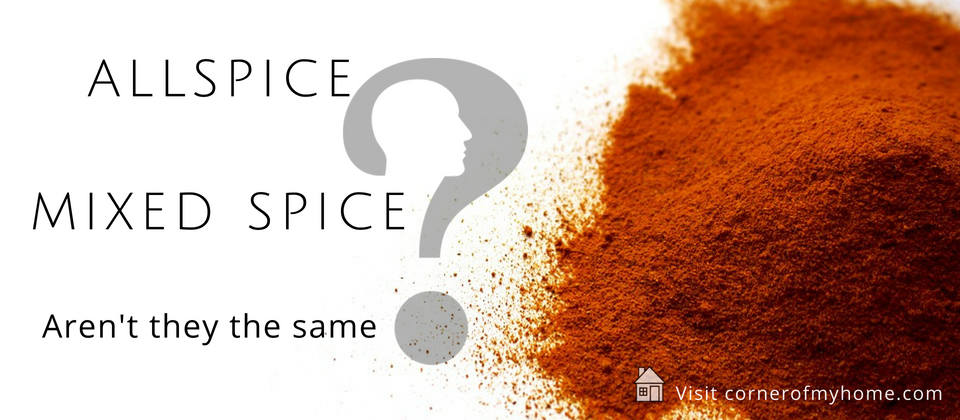 Allspice is a single spice and Mixed spice IS the blend of several spices