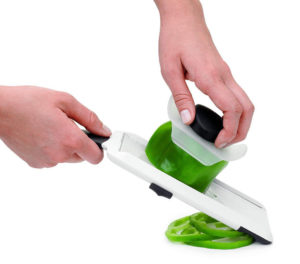 This simple and fuss free mandoline is perfect for slicing