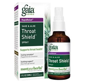 This easy to use throat spray is aimed to support throat health and healthy inflammatory response.