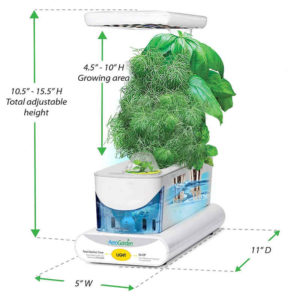 Aerogarden Sprout Specifications