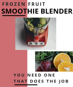 Smoothie Blender suitable for blending frozen fruits