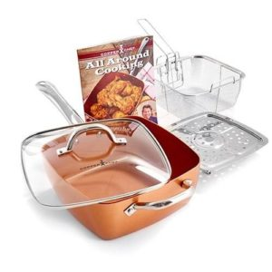 Copper Chef Cookware Set - Mom will love this piece! From stove top to oven to table