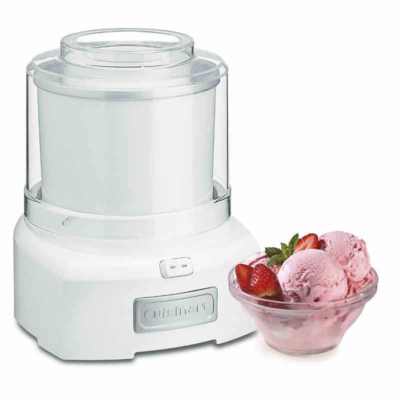 Cuisinart Frozen Yogurt Ice Cream Maker - Perfectly delicious gift for mom! Besides cooking hot meals, making frozen desserts will be nice for mom