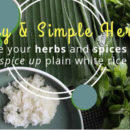 Healthy and Simple Herb Rice