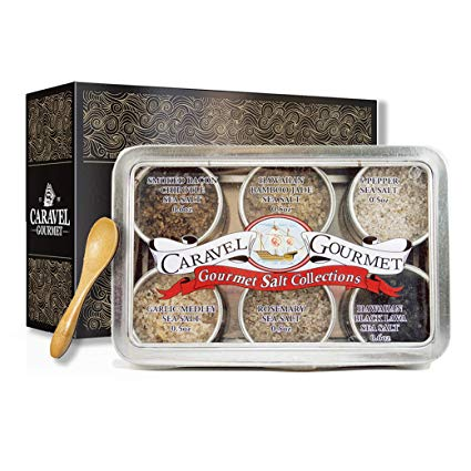 Infused Sea Salt Sampler - Perfect for the foodie mom