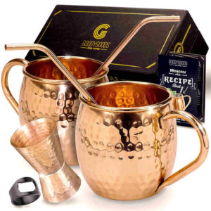 Moscow Mule Copper Mugs - Make her the 'coolest' mom with a Moscow mule mug