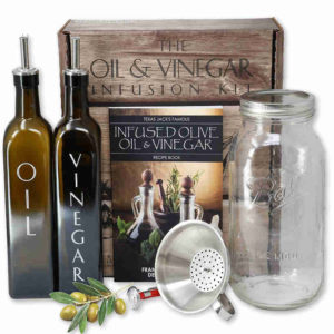 Oil and Vinegar Infusion Kit - For mom who loves to make her own