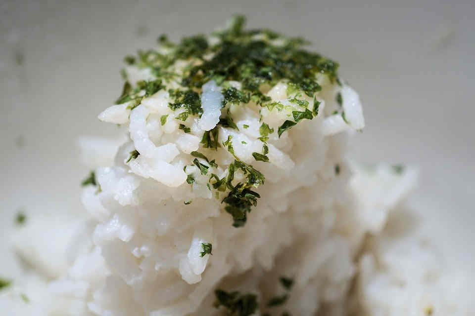 Simple Herb Rice