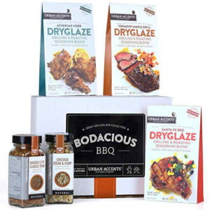 Smoking & grilling spices and meat rubs gift set