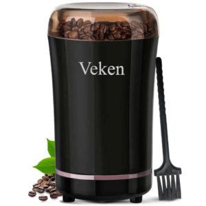 VEKEN Electric Coffee, Spice & Nut Grinder