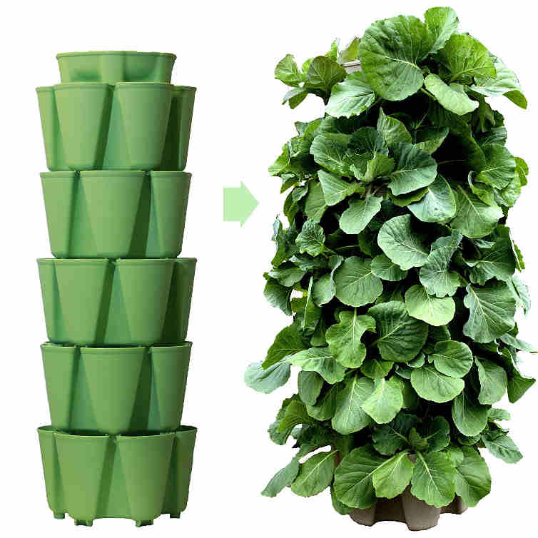 GreenStalk 5 Tier Vertical Garden Planter