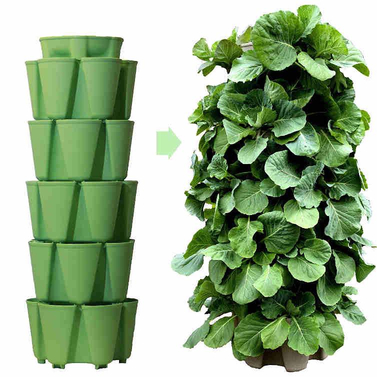 GreenStalk 5 Tier Vertical Garden Planter
