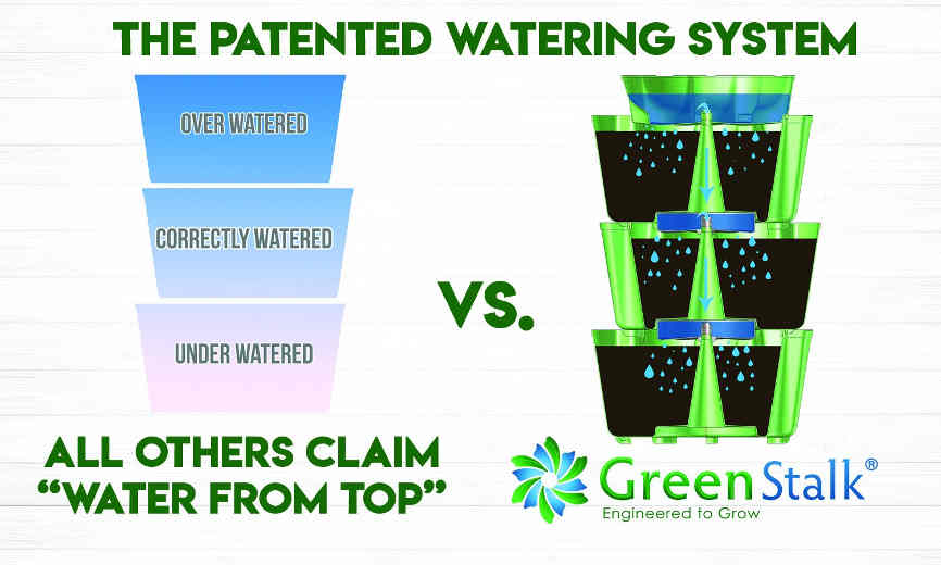 GreenStalk Patented Watering System