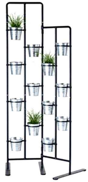 Vertical Metal Plant Stand 13 Tiers
