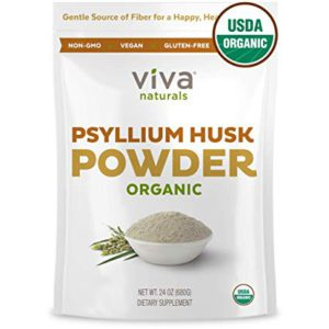 Psyllium husk helps cleanse digestive system and supports a healthy tummy because of its natural bulk forming properties