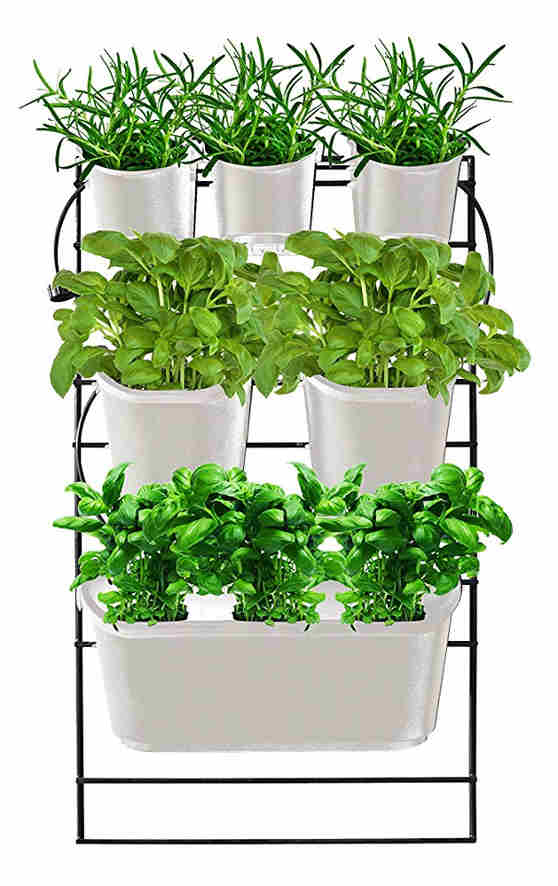 Watex Metal Mounted Green Wall Vertical Planter