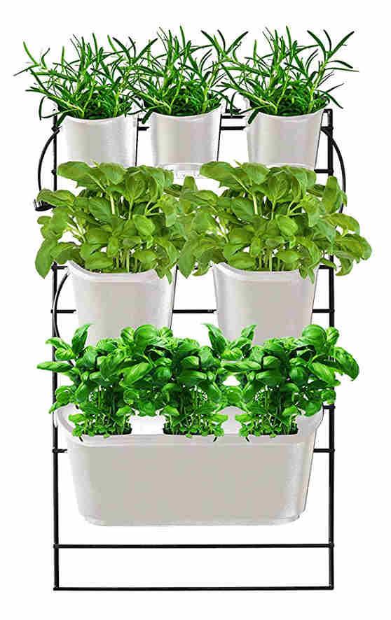 Watex Metal Mounted Green Wall Vertical Planter