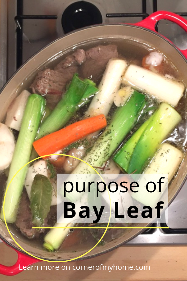 Find out the purpose of bay leaves in cooking