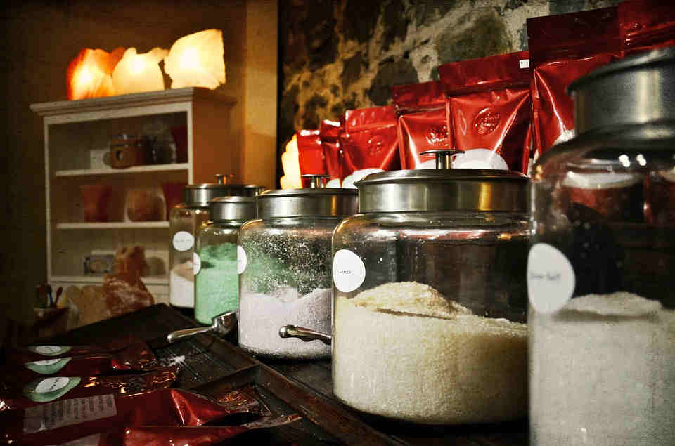 Various types of salt can be used to make herb salt