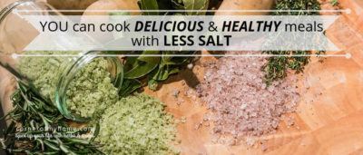 Find out what is in herb salt and learn how to make your own. With herb salt, you can cook and eat healthier meals with less salt.