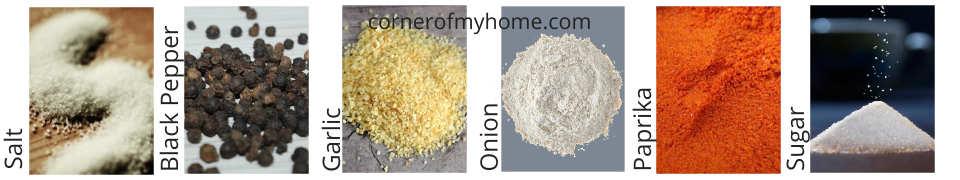 Ingredients in Seasoned Salt