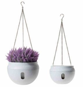 T4U Plastic Self Watering Hanging Planter