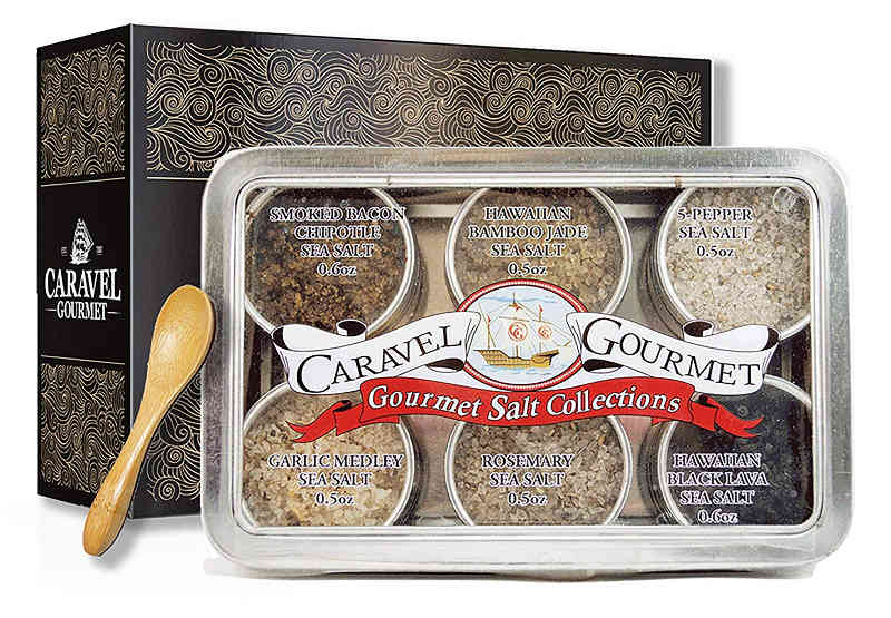 Caravel Gourmet Salt Collections. A perfect gift for people who like to cook.