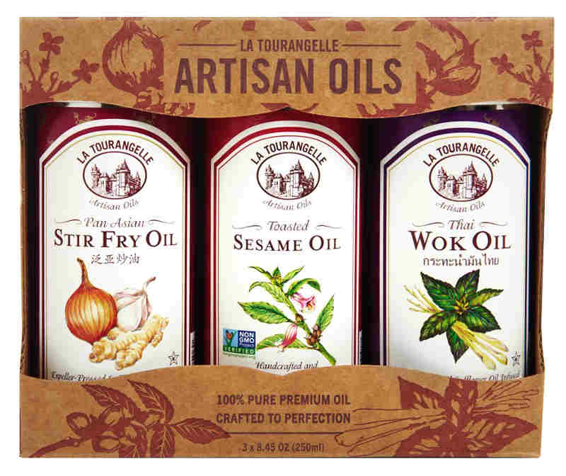 The perfect gift for adventuresome home chefs. Packed with wonderful flavours, this trio of oils give enthusiastic home chefs an exciting way to make a wide range of tasty meals