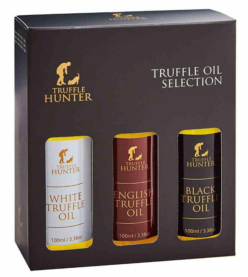 Truffle Hunter Truffle Oil Selection. A gourmet gift for your friend.