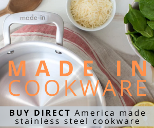 Buy direct America made stainless steel cookware