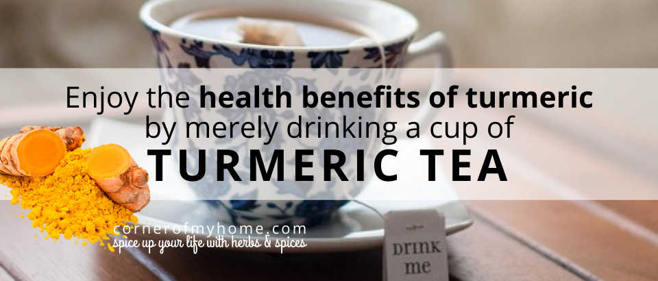 Look for the best turmeric tea bags that are organic and GMO free.