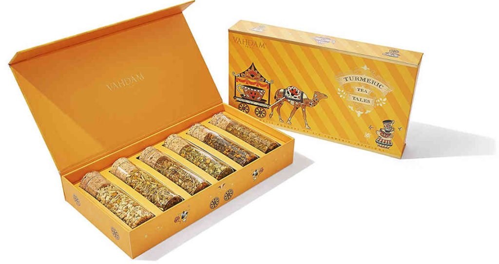 Turmeric Herbal Tea, Assorted Gift Set was featured in Oprah Winfrey's favourite things 2019. Consider buying this for your loved ones.