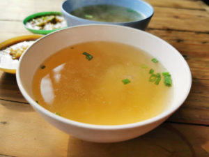 Broth is mostly used as a base for soups or as cooking liquid. Besides, you can drink broth plain as is due to its rich flavour that comes from the meat, vegetables and herbs.