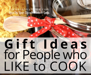 Gift Ideas for People Who Like to Cook
