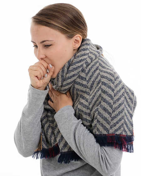 A cough is supposed to protect you. Coughing is a way the body get rid of foreign particles from the throat.