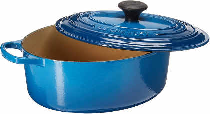 This Le Creuset OVAL Dutch oven is the perfect size for most roast and poultry