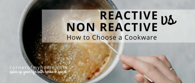Reactive vs non-reactive pot. How to choose a cookware.