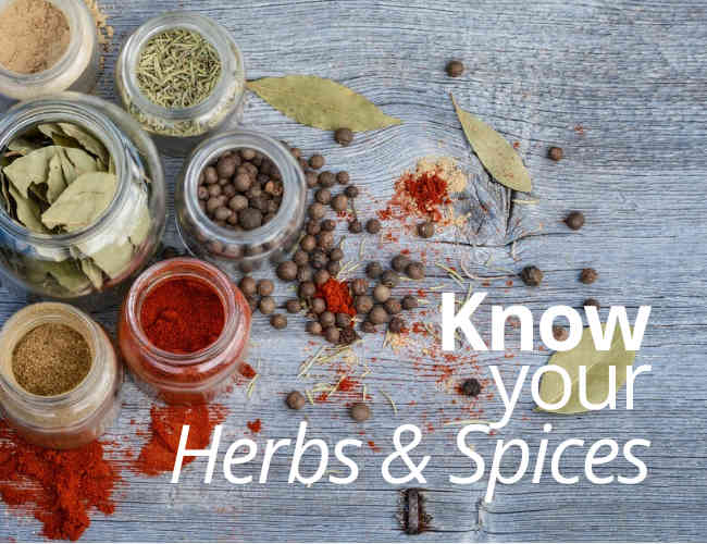 Know Your Herbs & Spices