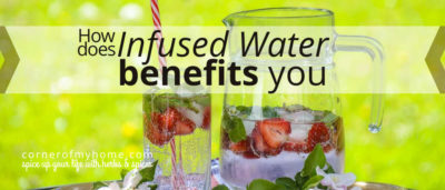 What is Infused Water For