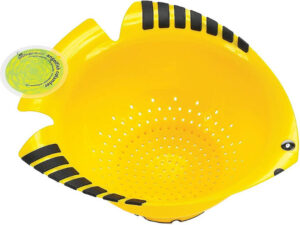 Great for pasta & rinsing  fruits and vegetables.
