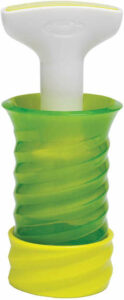 Herbcicle frozen herb keeper allows you to freeze and preserve herbs for use next time in popsicle form.